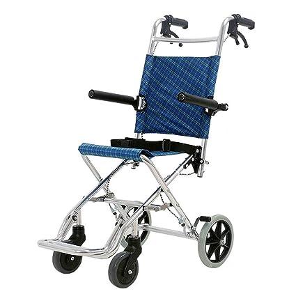 Sillas de ruedas Scooter Old Plegable Carro de la Compra de Aviones Puede soportar 100 kg