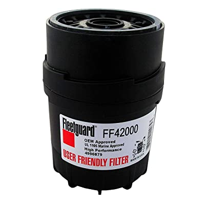Fleetguard FF42000 Fuel Filter, User Friendly VersioN: Automotive