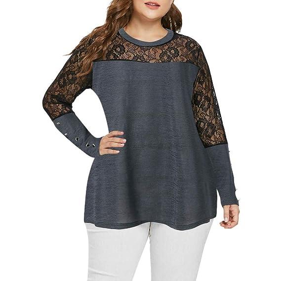 Blusa de Mujer, Manadlian Camiseta Atractiva de Las Mujeres ...