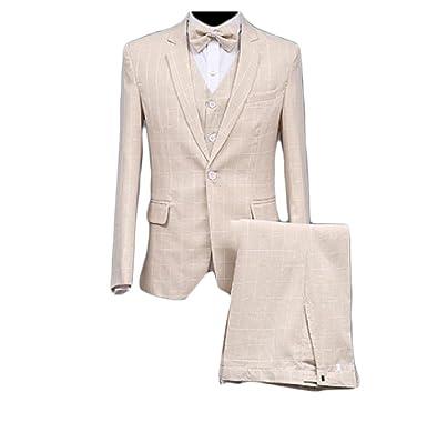 AGAING-men clothes - Traje - para hombre Rosa rosa S: Amazon ...