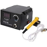 HUKOER 23-tlg Pyrographiemaschine Wood Craft Tool Kit 50W Einstellbarer Dual Pen mit Digitalanzeige