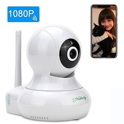 Cámaras de Vigilancia IP WiFi P2P Cámara Video Vigilancia Vision Nocturna Cámara de Seguridad 1080P con