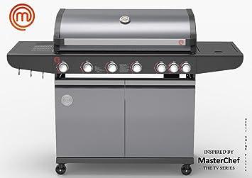 MasterChef – Masterchef – Barbacoa de gas 6 quemadores