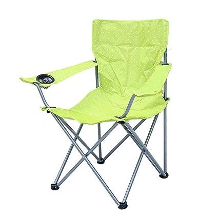 Silla plegable LITING_Wang Taburete Plegable Aire Libre de Interior Familia Barbacoa Picnic Camping Pintura