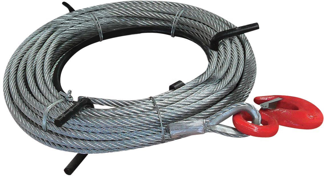 JET 286574 3/4-Ton 66-Feet Wire Rope