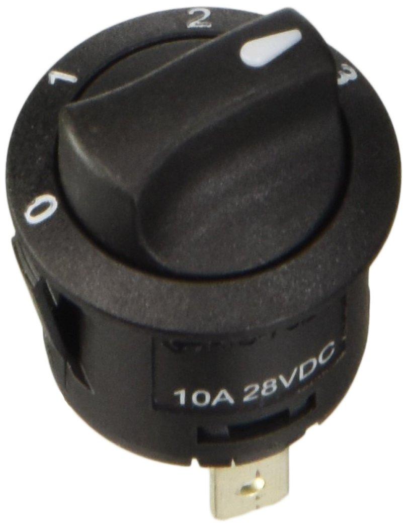 Lampa 45566 Drehregler mit 4Positionen, 12V / 24V – 20A