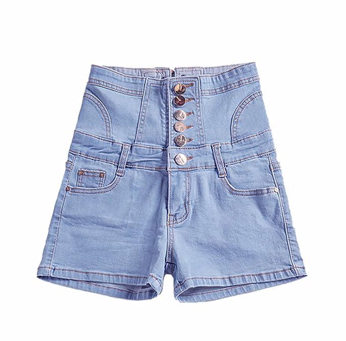 ecfeac4a97ea TieNew Mujer Sexy Denim Jeans Shorts Pantalones Cortos, Moda ...