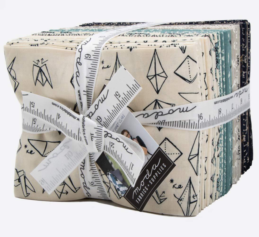 Origami 29 Fat Quarter Bundle by Janet Clare for Moda Fabrics