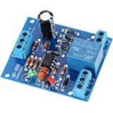 KKmoon 9V-12V AC/DC センサモジュール 水コントロールモジュール 水位検知センサー 排水ポンプ水コントロールモジュール 液体レベルコントローラー