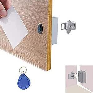 TwoCC Cerradura de Cajón para Sensor RFID Oculto con 1 Llavero Y 1 ...