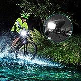 MAJCL USB Rechargeable Bike Light, Waterproof Bike