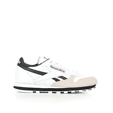 Chaussures Reebok – Cl Leather Trc blanc/noir/gris taille: 41
