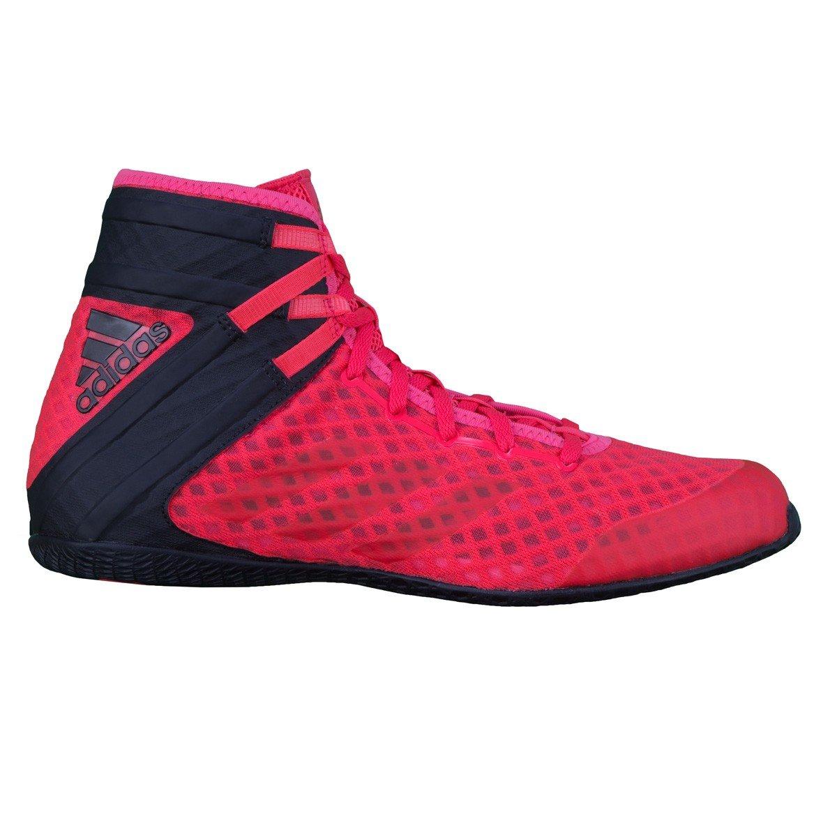 adidas Speedex 16.1, Chaussures de Boxe Homme, Noir (Schwarz Cblack/Ngtmet/Silvmt), 46 EU