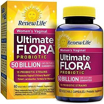 Renew Life - Ultimate Flora Probiotic Women's Care - 50 billion - 60 vegetable capsules