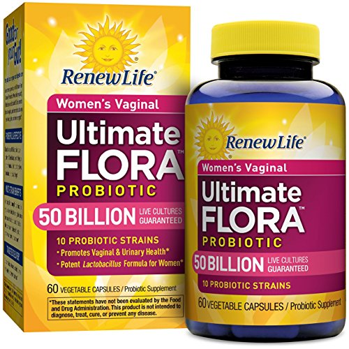 Ultimate Care - Renew Life - Ultimate Flora Probiotic Women's Care - 50 billion - 60 vegetable capsules