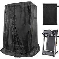 """Black Treadmill Cover 46"""" L x 38"""" W x 66"""" H, Luxiv Dustproof Waterproof Cover for Treadmill Fold-able Cover for Indoor…"""