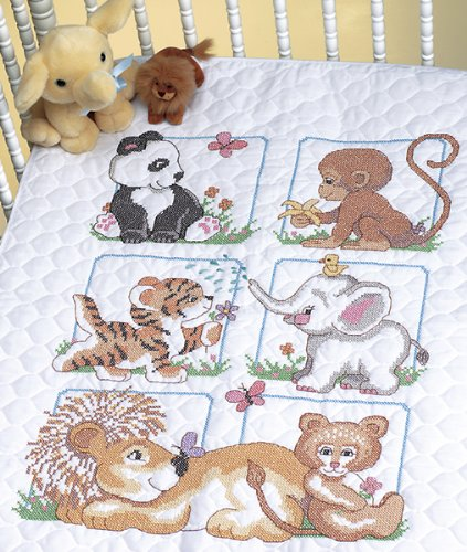 brand-new-animal-babies-quilt-stamped-cross-stitch-kit-34x43-brand-new