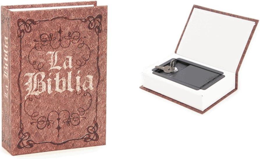 Caja Fuerte Libro La Biblia: Amazon.es: Hogar
