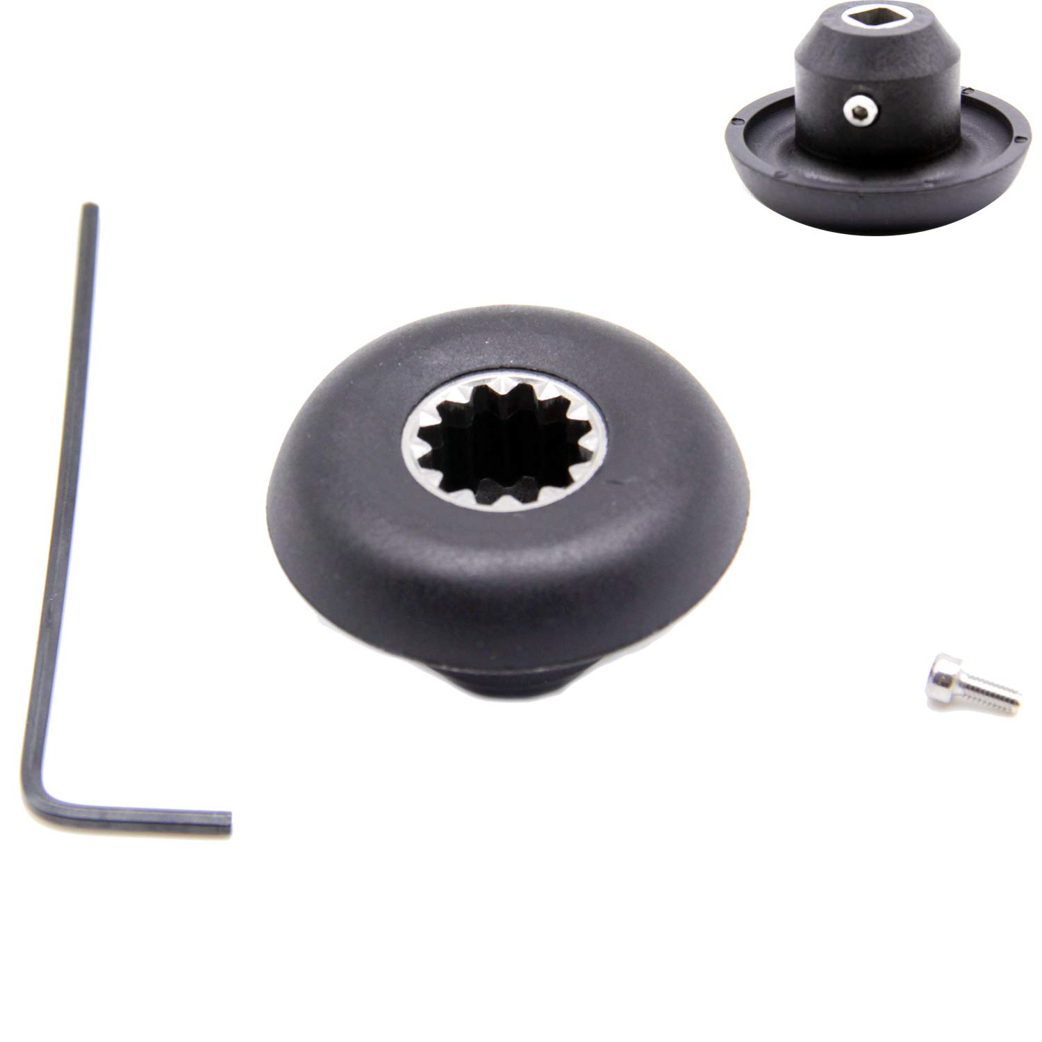 Repair Kit Retainer Nut, Drive Socket, Allen wrench, 891 802 Replacement Part for Vitamix Blenders & Allen Wrench for Vita-mix Blade 5200 5006 5012 5057 5062 Series