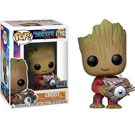 Funko POP Guardians of the Galaxy Vol 2 Baby Groot Vinyl Figure Neuf /& en Stock