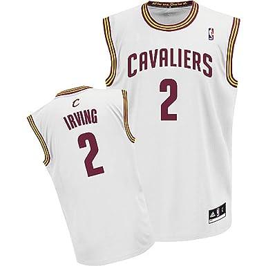 Amazon.com: Kyrie Irving Cleveland Cavaliers NBA blanco ...