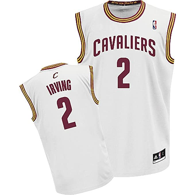 Image Unavailable. Image not available for. Color  Kyrie Irving Cleveland  Cavaliers White NBA Youth Revolution 30 Replica Jersey ... e971f1566