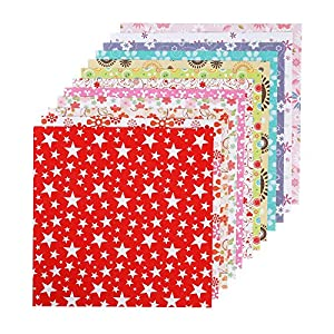 Caydo 144 Sheets Origami Paper 6-Inch by 6-Inch with 12 Different Colors and Patterns