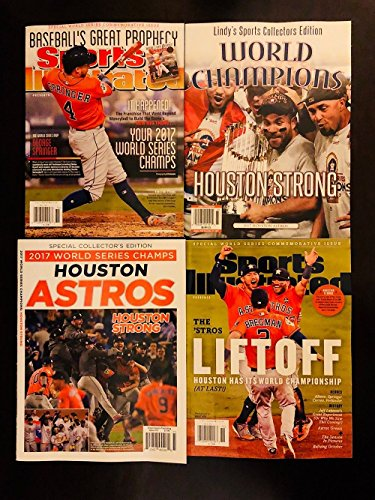 (NEW Astros World Series Commemorative Issues - 4 Magazines)
