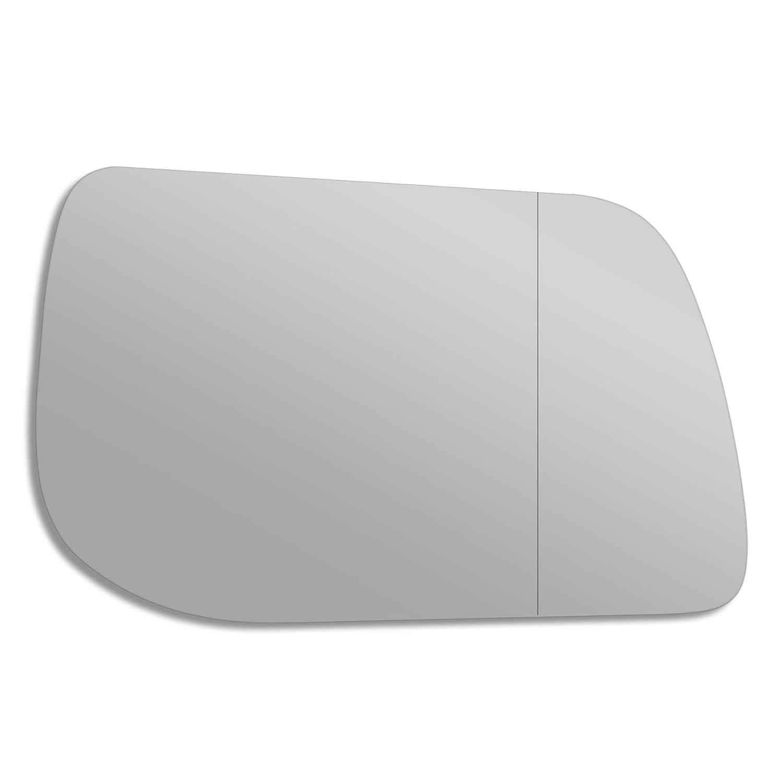 lap38 T/ür Stick auf Spiegel Ersatz Treiber Seite Quick Fix Silber # lara-95//02-r /_ WA RECHTS Seite Au/ßenspiegel Glas Echtglas