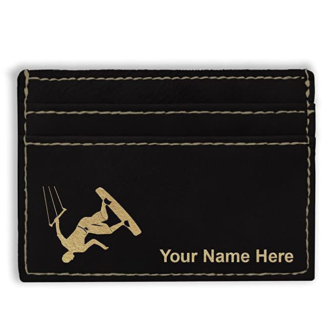 Money Clip Wallet Karate Man Personalized Engraving Included