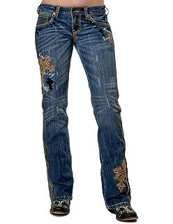 Cowgirl Tuff Western Denim Jeans Women Unbelievable Medium Wash JUNBCP