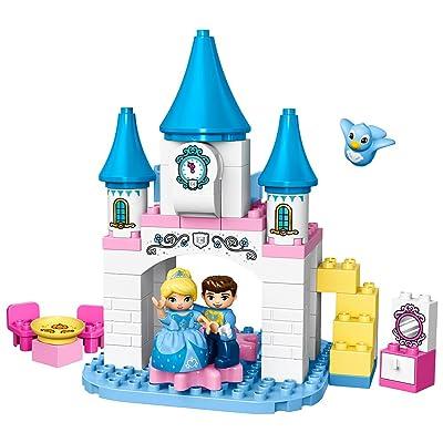 LEGO Duplo Disney Princess Cinderella's Magical Castle 10855: Toys & Games