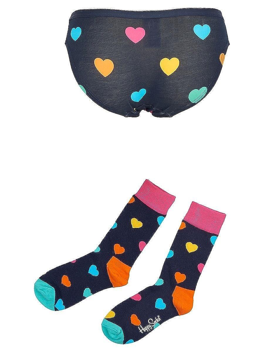Happy Socks Women Valentine Box 36//40 Navy