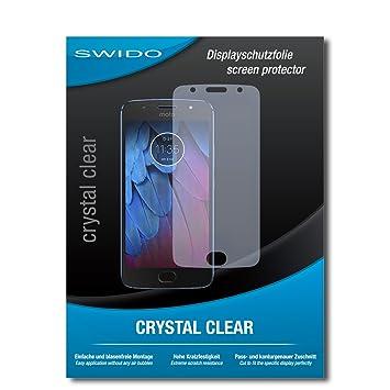 4 x SWIDO® Protector de pantalla Motorola Moto G5s Protectores de ...