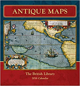 antique maps w calendar 2015 square