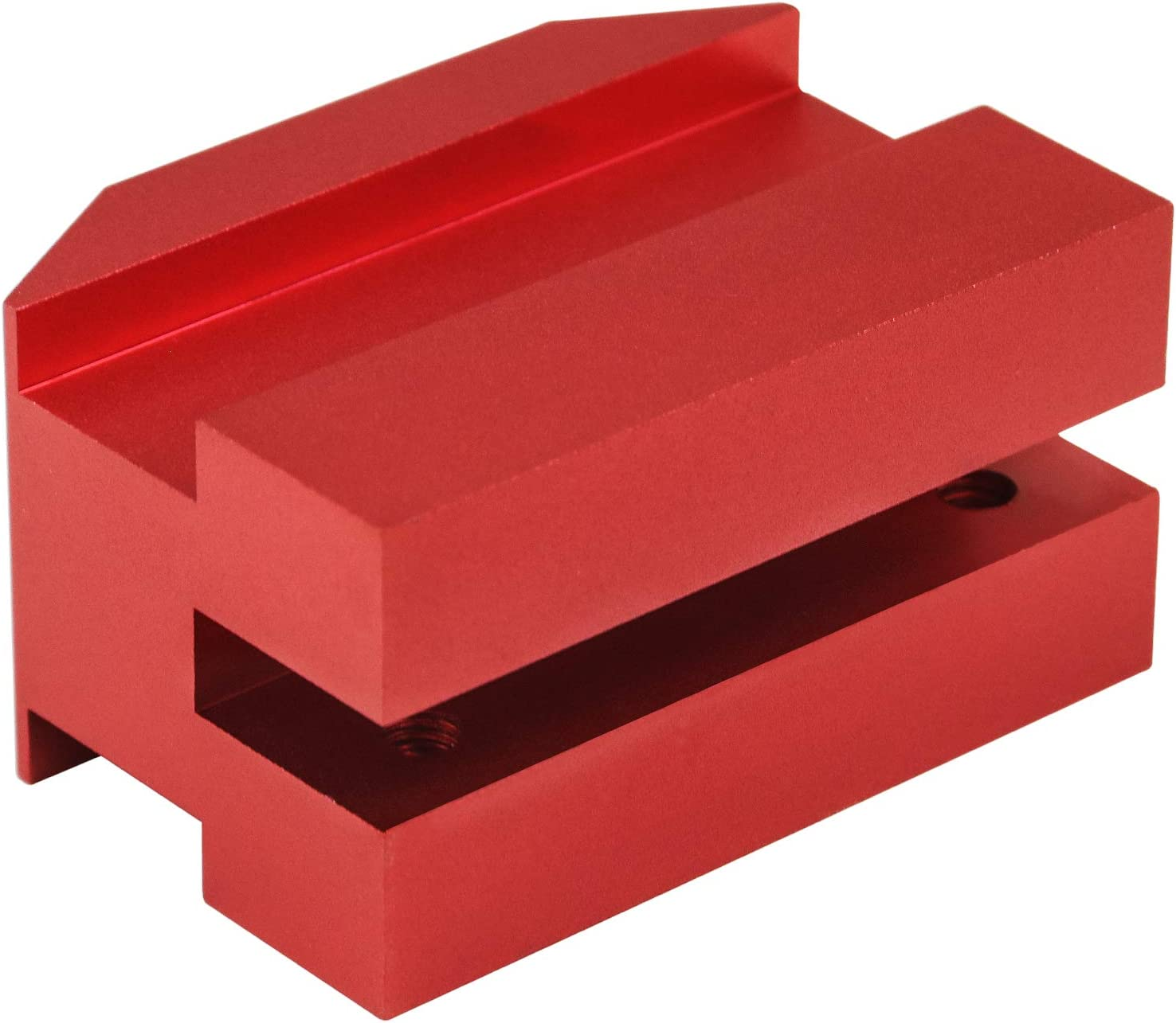 Sporthfish Jack Pad Billet Anodized Red Aluminum Lift Pads Floor Jack Bolt on Jack Points Fit for 6th gen Camaro 16-18,Except Convertible