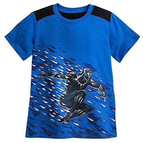 Marvel Black Panther Colorblock T-Shirt For Boys Size 4 Blue 456226237261