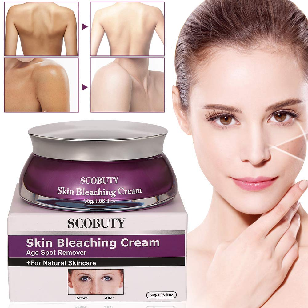 Skin Lightening Cream, Whitening Cream, Brightening Cream, Melasma Treatment Cream, Freckle Removal Cream For Face Brightening, Dark Spot, Skin Pigmentation, Age Spots For Face and Body by TOULLGO
