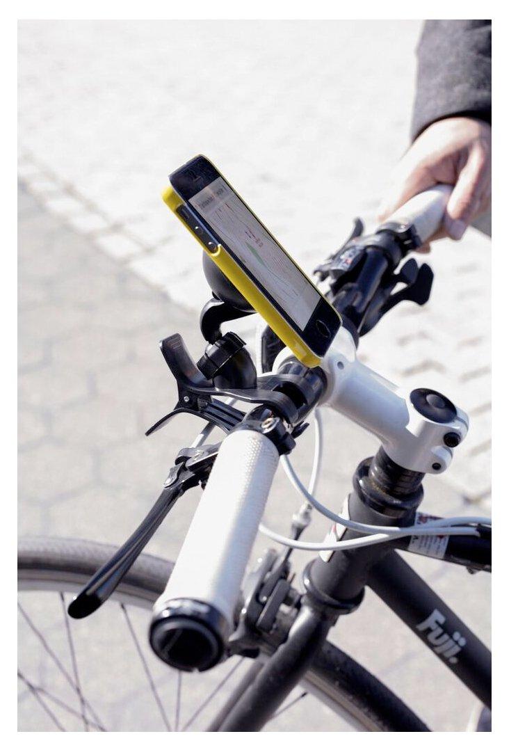 Black US105-BK Kikkerland Bike Phone Holder