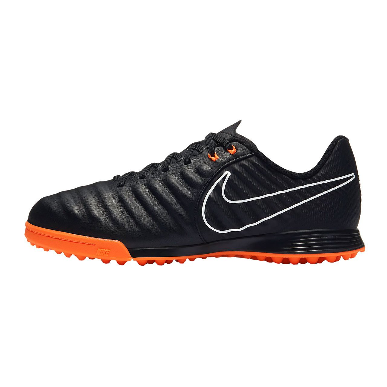 Nike Unisex-Kinder Jr Legendx 7 Academy TF Fitnessschuhe Mehrfarbig (Black/Total Orange-b 080)