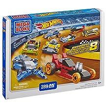Mega Bloks Inc Mega Bloks Hot Wheels Super Race Set, 8 Cars Pack