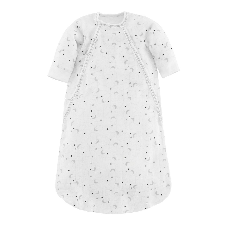 Under the Nile Baby Unisex Muslin Bunting Grey Starry Night Print Organic Cotton (0-3m)
