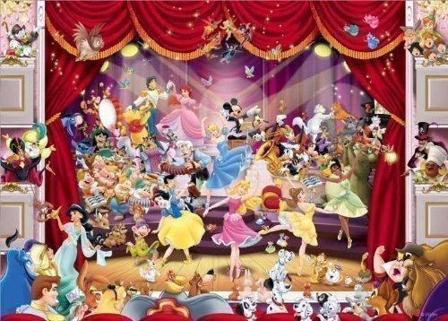 2 opinioni per Puzzle Gigante Disney Theatre (1000 Pezzi)