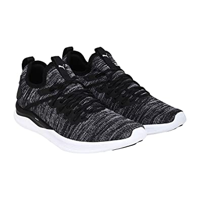 official photos 9a4d7 69188 Puma Men's Ignite Flash Evoknit BlackAsphaltWhite Running Shoes-6 UK/India  (39 EU) (4059504784479)