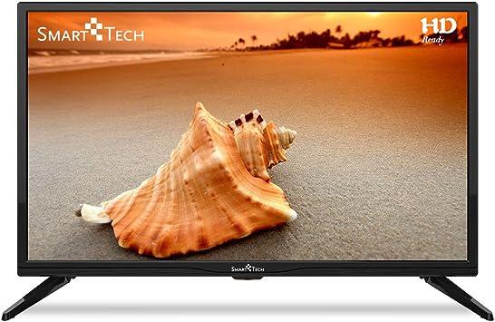Smart-Tech SMT24Z1TS Televisor LED HD Ready de 24 Pulgadas, Reproductor Multimedia a Través de Puerto USB y Puerto HDMI (Sintonizador Triple DVB-T/C / T2 / S / S2, Negro): Amazon.es: Electrónica