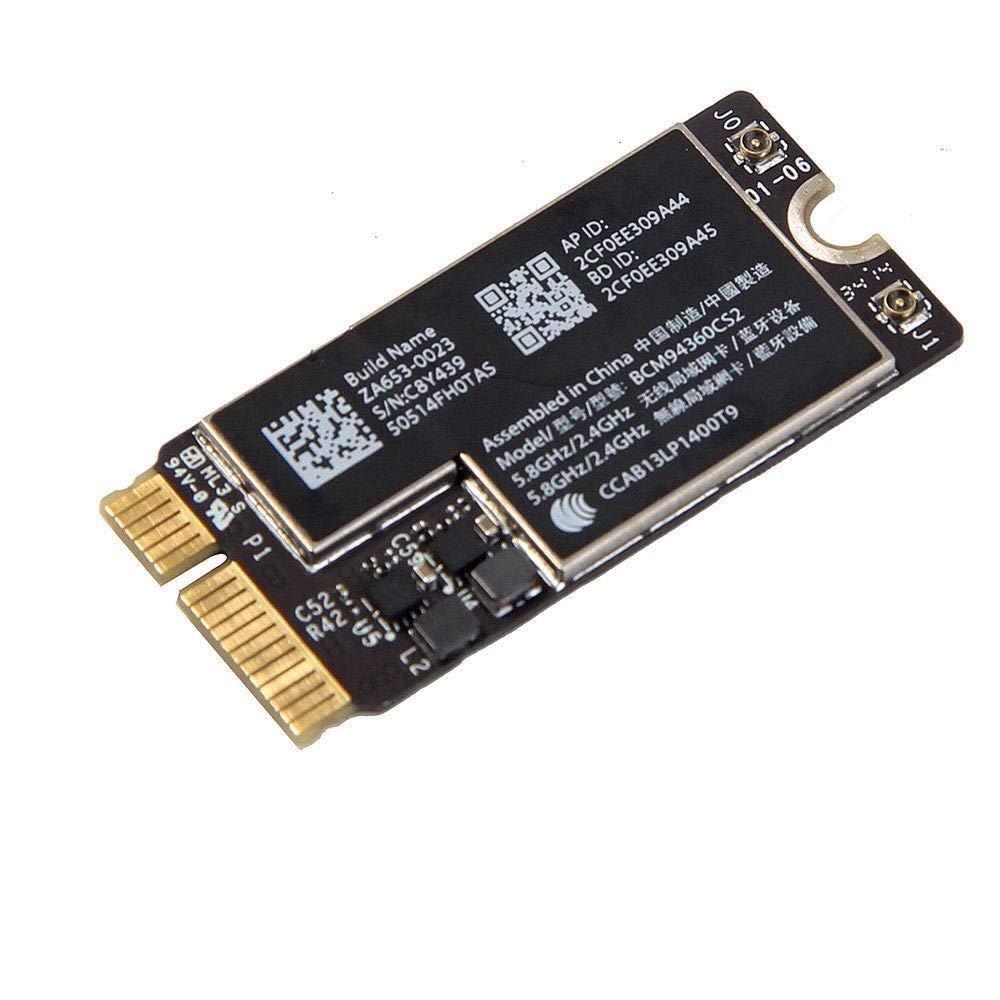 TOOGOO Wifi Bluetooth AirPort Card Bcm94360Cs2 For Macbook Air A1465 A1466 Md711 Md760
