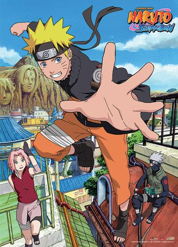 Great Eastern Entertainment Naruto Shippuden Naruto Homecomi