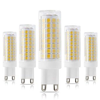 Nuevo G9 LED bombilla, intensidad regulable G9 Base Bi-Pin bombillas, 75 W
