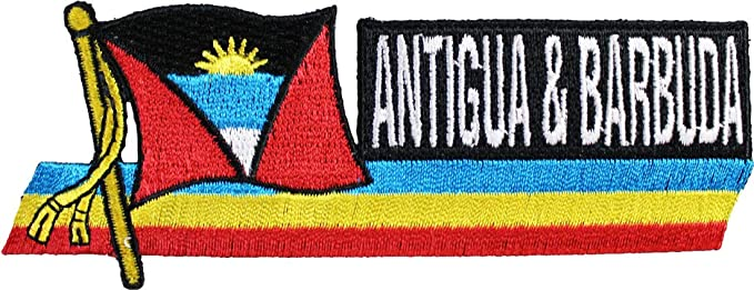 Fashionable Antigua Flag Women/'s Print Fitness Stretch *Leggings* Yoga Pants