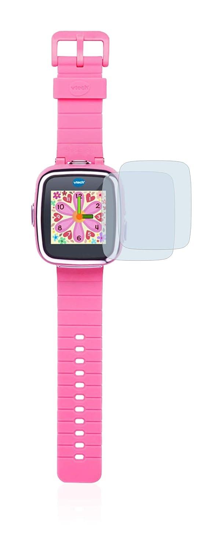 brotect Protector Pantalla Compatible con Vtech Kidizoom Smart Watch DX Protector Transparente (2 Unidades) Anti-Huellas
